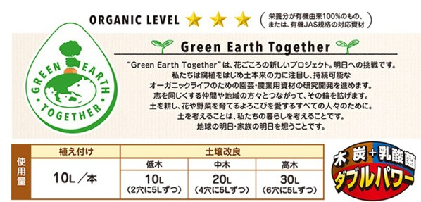 GET果樹・ 花木の土壌改良剤