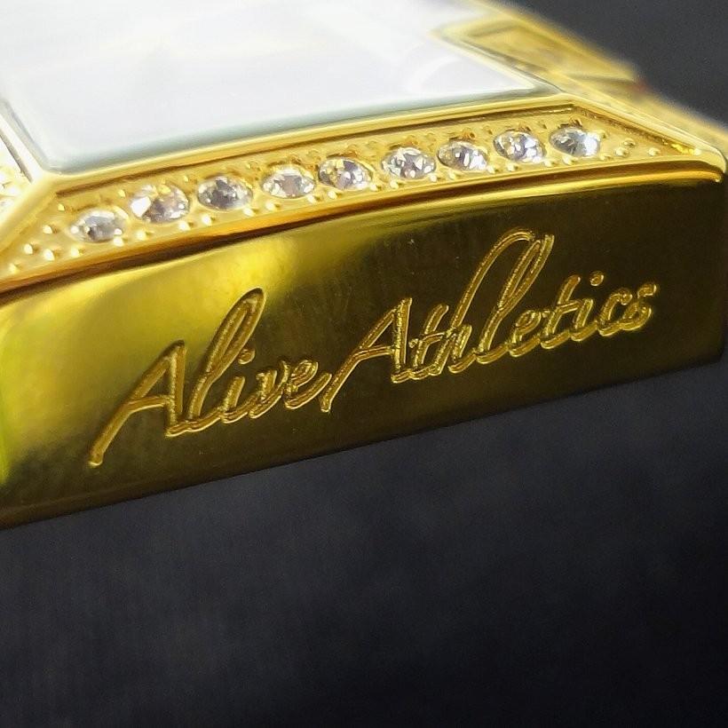 ALIVE ATHLETICS アライブ 腕時計 ウォッチ シリコンバンド ガンダムシリーズの「ドム」を連想させるデザイン