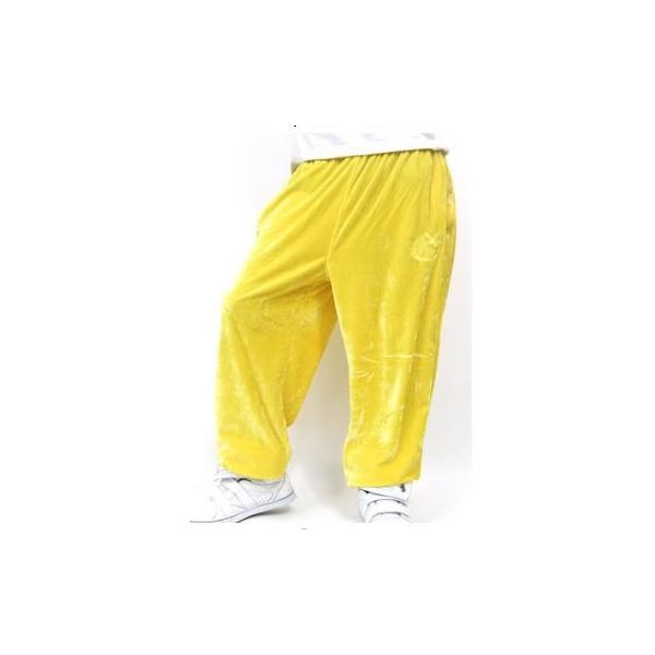 ヒップホップ ダンスパンツ 衣装 ロングパンツ ベロア素材 ブランド スポーツ ズンバウェア 大きいサイズ DOP|dj-dreams|08