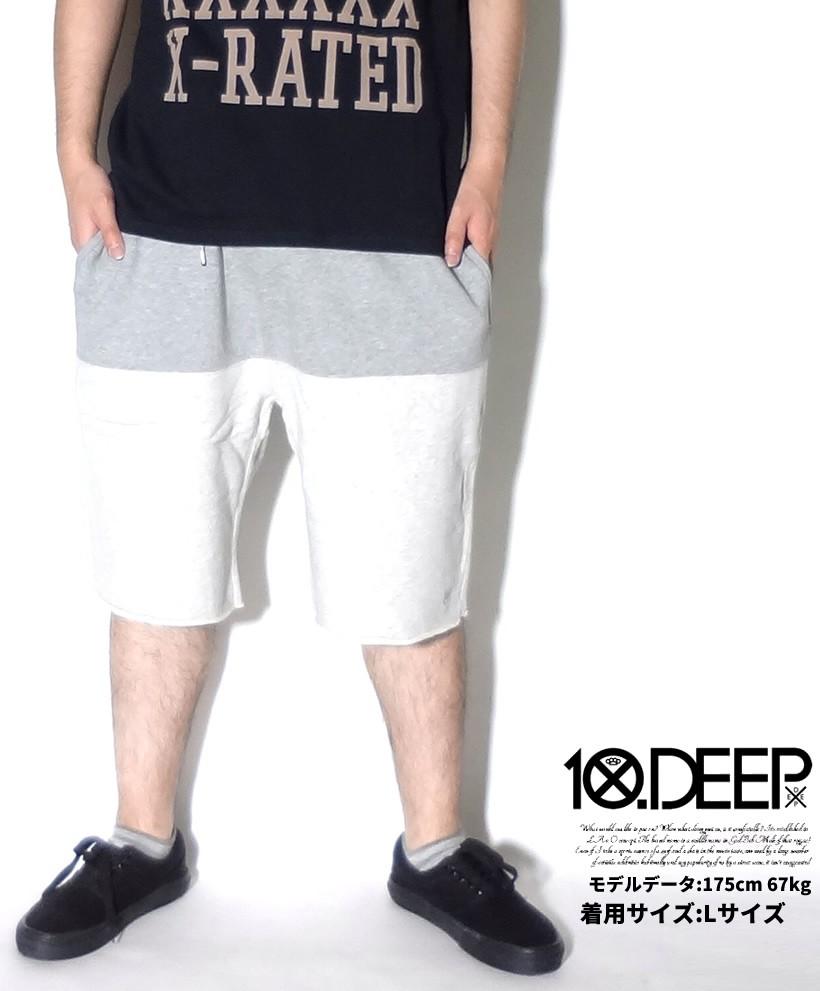 Lサイズ 10DEEP テンディープ スウェットパンツ 42TD1413