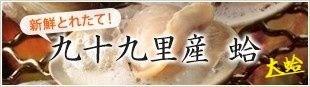 九十九里産 蛤 新鮮とれたて!