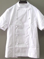 半袖コックコート (セブンユニフォーム)AA412