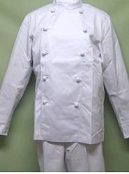コックコート 長袖ホワイト AS-110