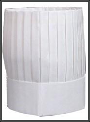 シェフハット コック帽子角型 紙帽子 50枚セット