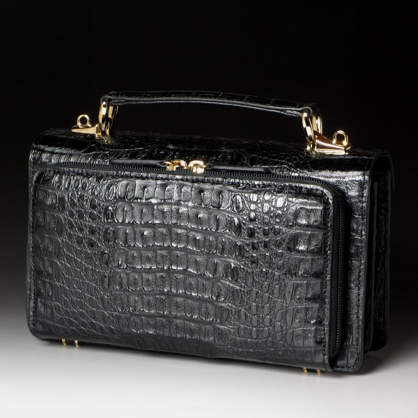 クロコセカンドバッグ