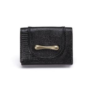 選べるノベルティ トフアンドロードストーン 三つ折り財布 デリスリザード ウォレット Women's Delice lizard Wallet TOFF&LOADSTONE TLA-323|Double Edge