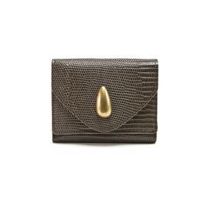選べるノベルティ トフアンドロードストーン 三つ折り財布 ミニウォレット デリスリザード Women's Delice Lizard Wallet TOFF&LOADSTONE TLA-361|Double Edge
