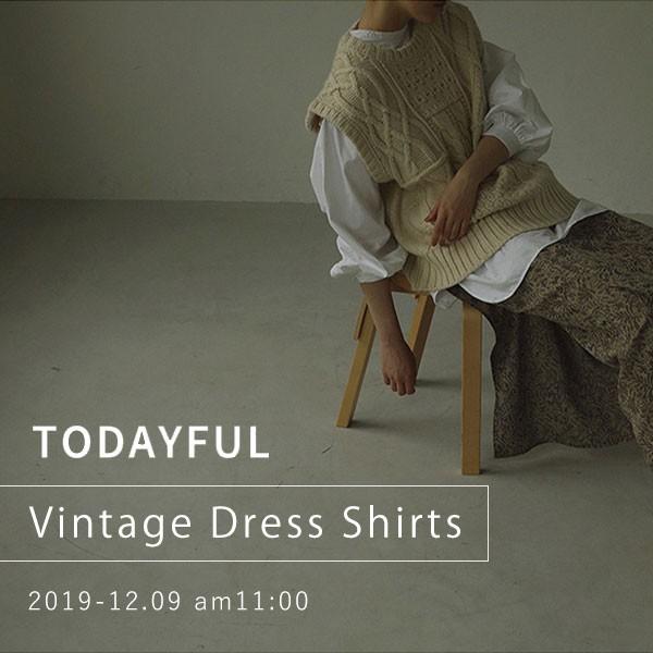 TODAYFUL Vintage Dress Shirts