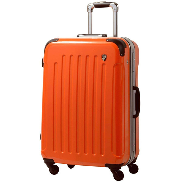 スーツケース 人気 グリフィンランド スーツケース 軽量 アルミフレーム ハード 日乃本錠前 グリスパック スーツケース M キャリーケース TSA|dream-shopping|19