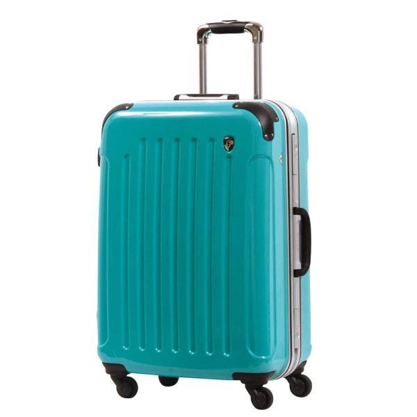 スーツケース 人気 グリフィンランド スーツケース 軽量 アルミフレーム ハード 日乃本錠前 グリスパック スーツケース M キャリーケース TSA|dream-shopping|28