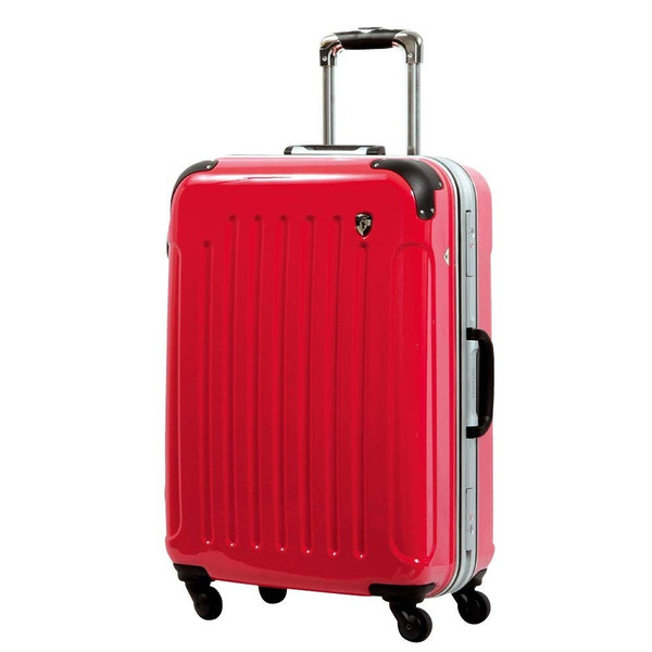 スーツケース 人気 グリフィンランド スーツケース 軽量 アルミフレーム ハード 日乃本錠前 グリスパック スーツケース M キャリーケース TSA|dream-shopping|30
