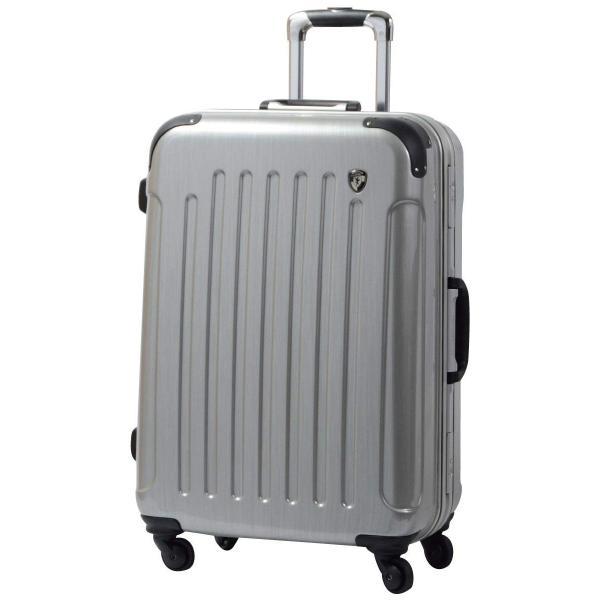 スーツケース 人気 グリフィンランド スーツケース 軽量 アルミフレーム ハード 日乃本錠前 グリスパック スーツケース M キャリーケース TSA|dream-shopping|26