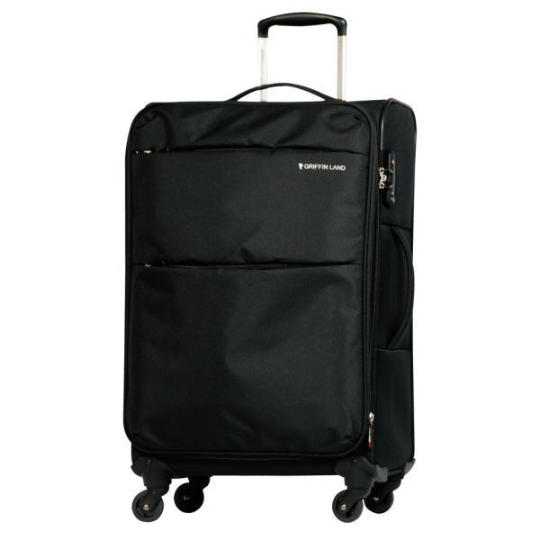 スーツケース Lサイズ 大型 軽量 約95L 約2.9kg 拡張機能 人気 1年間保証 ソフトタイプ  ソフトキャリー TSAロック  dream-shopping 13