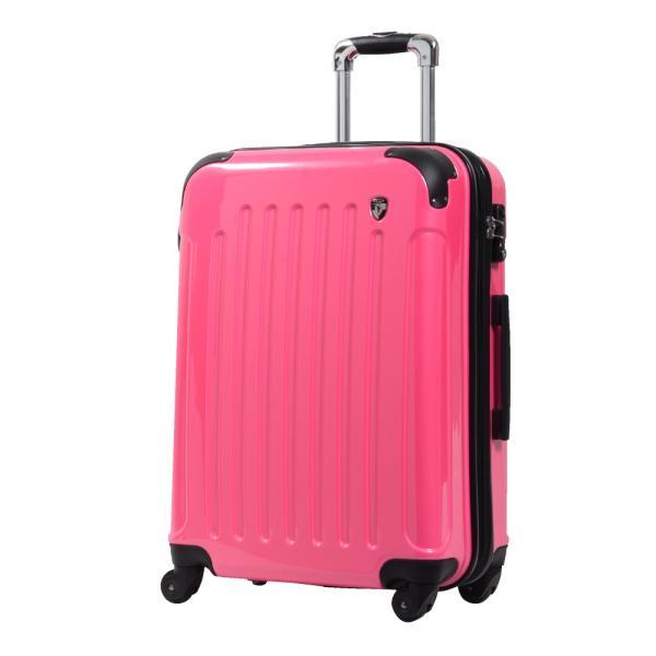 スーツケース Mサイズ 中型 軽量 約69L 拡張機能 YKKファスナー 人気 1年間保証 ファスナータイプ ハードケース 旅行かばん|dream-shopping|09