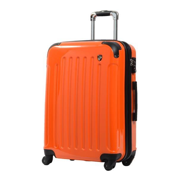 スーツケース Mサイズ 中型 軽量 約69L 拡張機能 YKKファスナー 人気 1年間保証 ファスナータイプ ハードケース 旅行かばん|dream-shopping|07