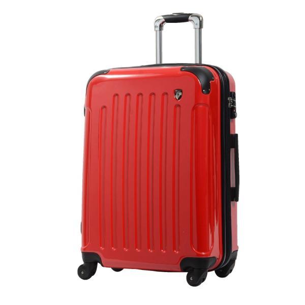 スーツケース Mサイズ 中型 軽量 約69L 拡張機能 YKKファスナー 人気 1年間保証 ファスナータイプ ハードケース 旅行かばん|dream-shopping|06