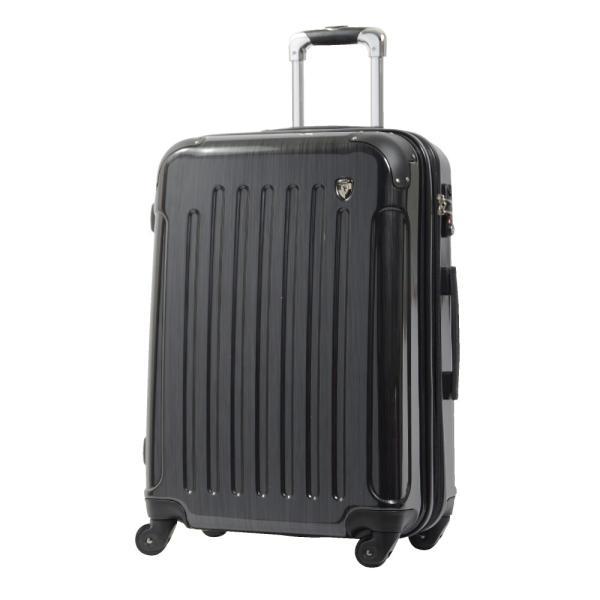スーツケース Mサイズ 中型 軽量 約69L 拡張機能 YKKファスナー 人気 1年間保証 ファスナータイプ ハードケース 旅行かばん|dream-shopping|05