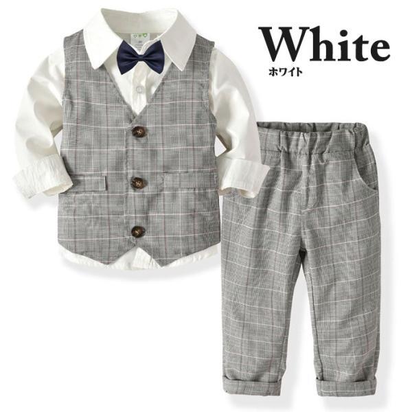 子供 スーツ 4点セット 男の子 ベビー フォーマル スーツ 子供服 赤ちゃん キッズ フォーマル 男の子 80 90 100 110 120 130|dreamkikaku|09