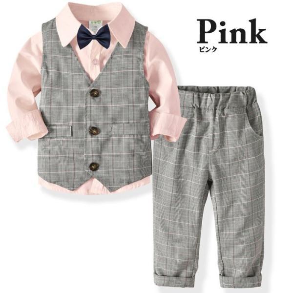 子供 スーツ 4点セット 男の子 ベビー フォーマル スーツ 子供服 赤ちゃん キッズ フォーマル 男の子 80 90 100 110 120 130|dreamkikaku|10