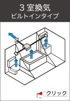 3室換気ビルトインタイプ