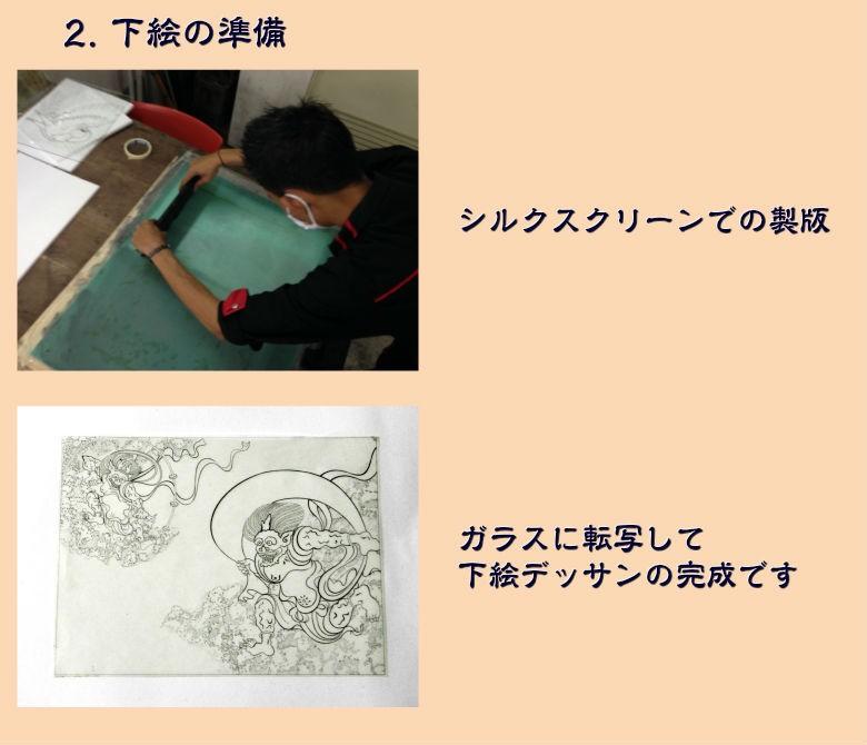 ジュエリー絵画制作工程2