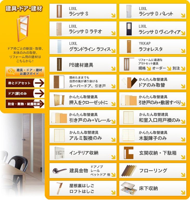 建具・ドア・建材