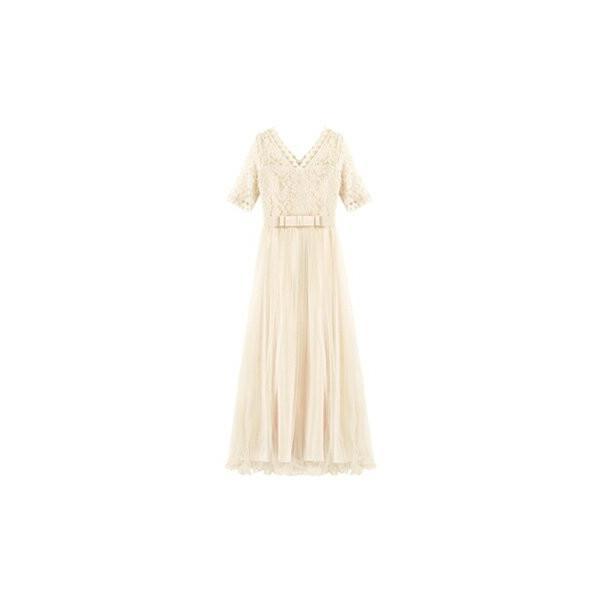 パーティードレス ロング ドレス 結婚式 お呼ばれ ワンピース オールインワン 大きいサイズ お呼ばれ マキシ|dressstar|22