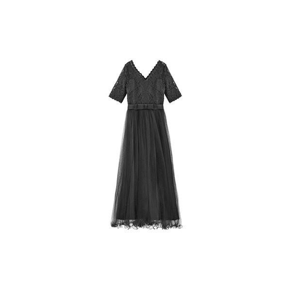 パーティードレス ロング ドレス 結婚式 お呼ばれ ワンピース オールインワン 大きいサイズ お呼ばれ マキシ|dressstar|23