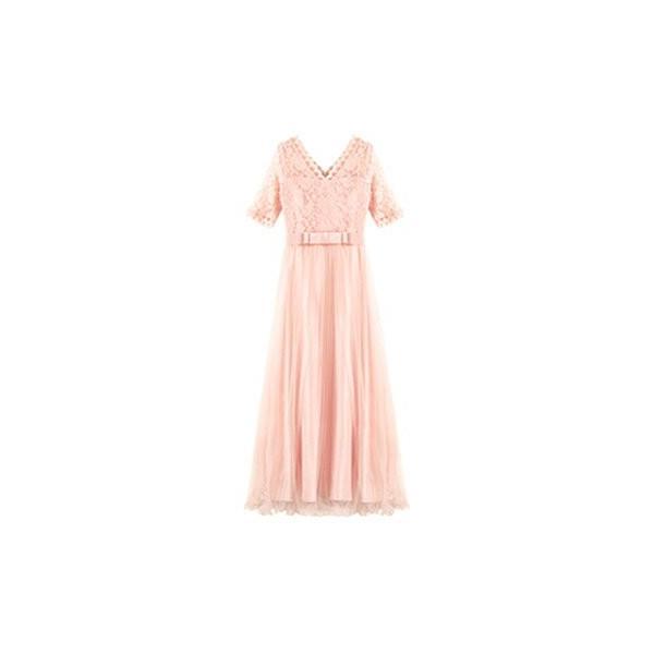 パーティードレス ロング ドレス 結婚式 お呼ばれ ワンピース オールインワン 大きいサイズ お呼ばれ マキシ|dressstar|25