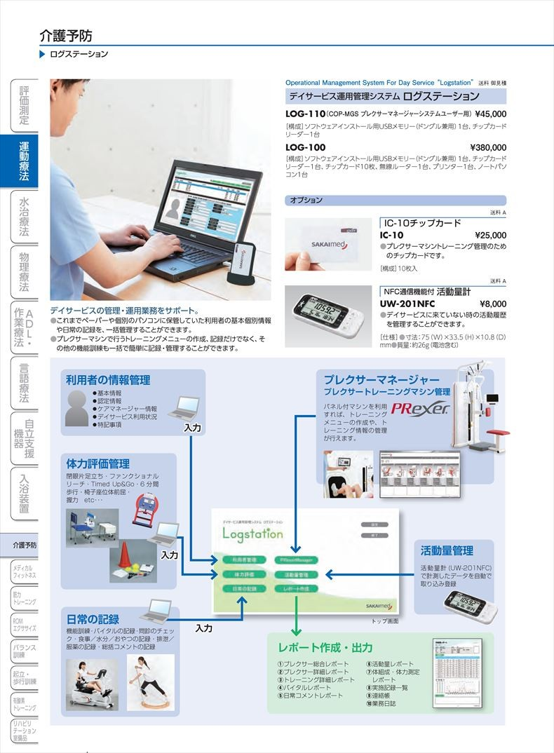 NFC通信機能付活動量計UW-201NFC[個](sa14Q34739)【酒井医療】
