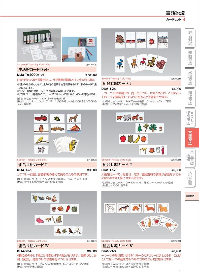 組合せ絵カードIVDLM-534[組](sa22I30013)【酒井医療】