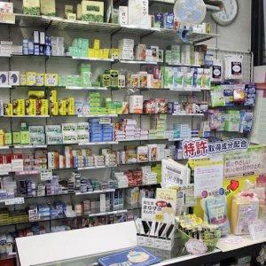 薬品棚です。