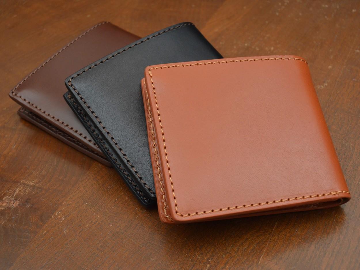 二つ折り財布 牛革スムース 送料無料 DUCT(ダクト)