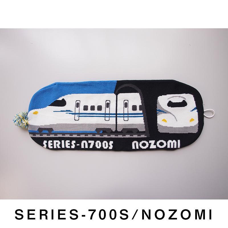 帽子 マフラー キッズ 子供用 鉄マフ帽 新幹線シリーズ [M便 1/1]|dyn|24