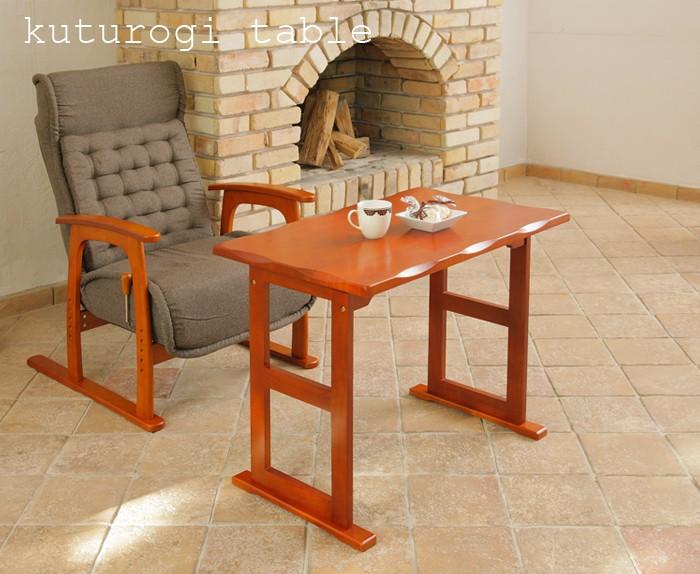 テーブル つくえ 机 ハイテーブル テーブル ハイタイプ 木製 ブラウン