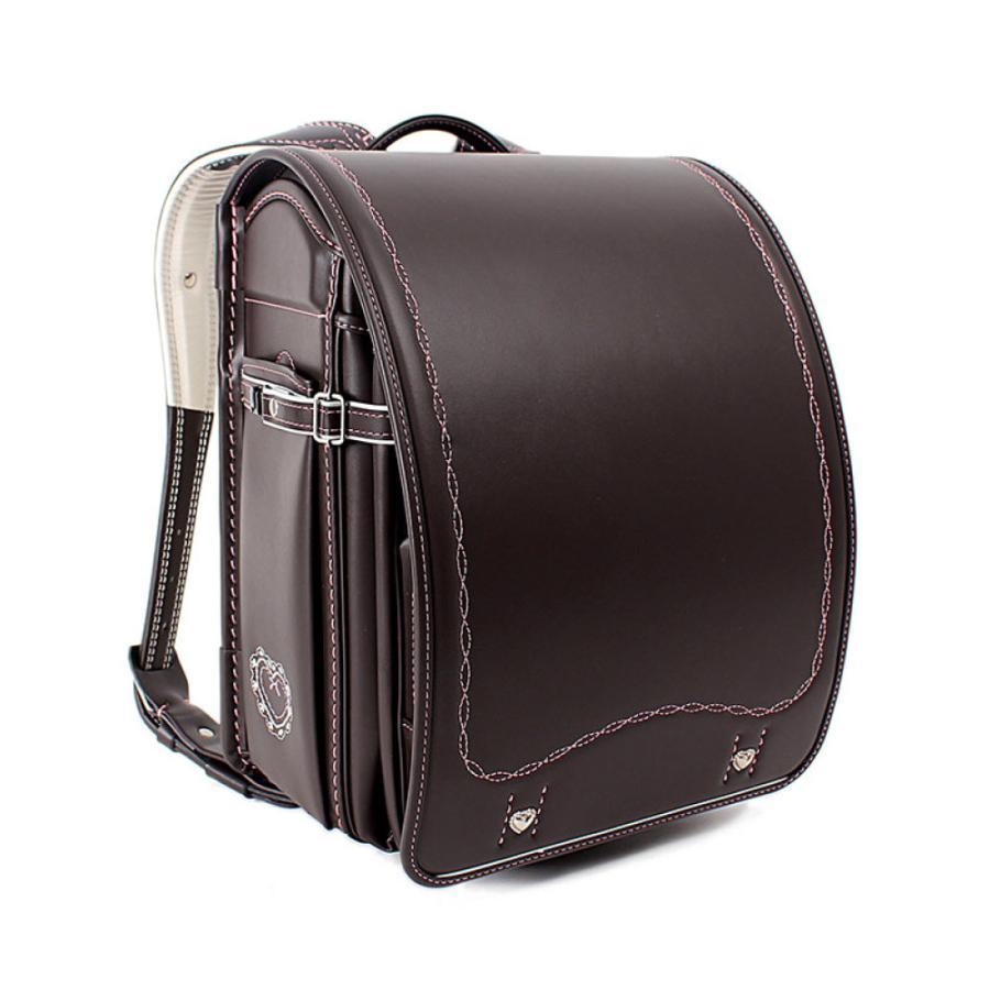 ファイテン ランドセル 女の子 2022 phig 日本製 6年保証 Phiten RELAX ファイテン リラックス サイドポケット A4 軽い ワンタッチロック モリちゃんランちゃん|e-bag-morita|18