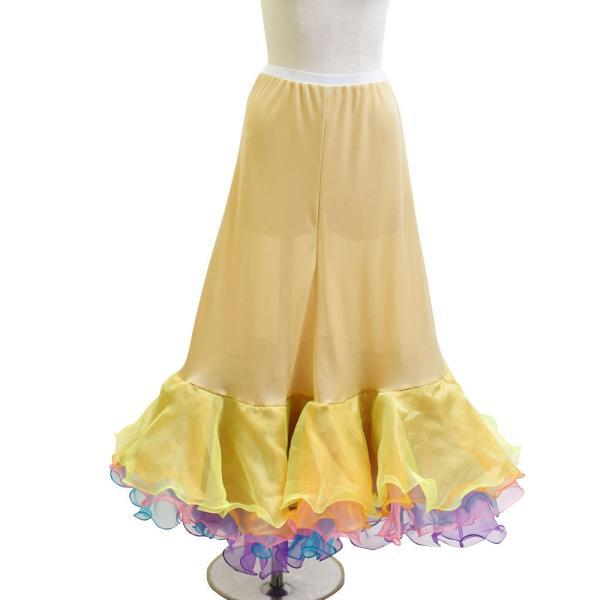 ダンス衣装  ボリュームフリルパニエ フラメンコ 衣装 ペチコート AB5831|e-dance-fitness|16