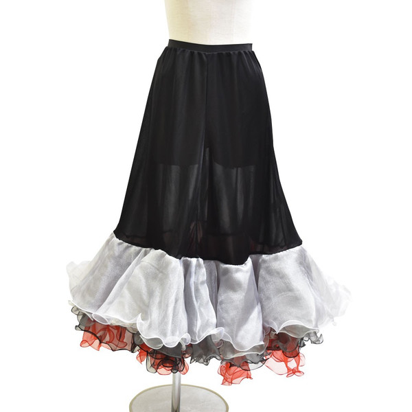 ダンス衣装  ボリュームフリルパニエ フラメンコ 衣装 ペチコート AB5831|e-dance-fitness|18