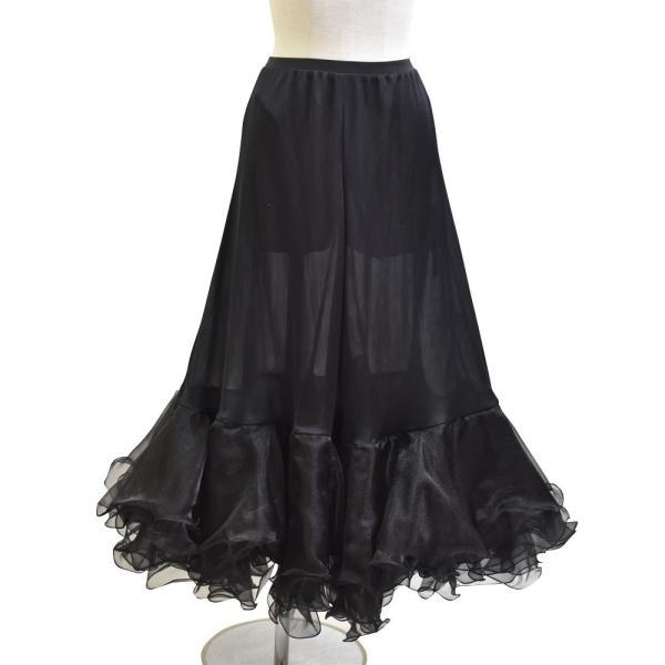 ダンス衣装  ボリュームフリルパニエ フラメンコ 衣装 ペチコート AB5831|e-dance-fitness|07