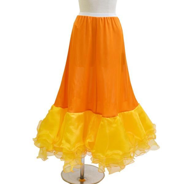 ダンス衣装  ボリュームフリルパニエ フラメンコ 衣装 ペチコート AB5831|e-dance-fitness|08