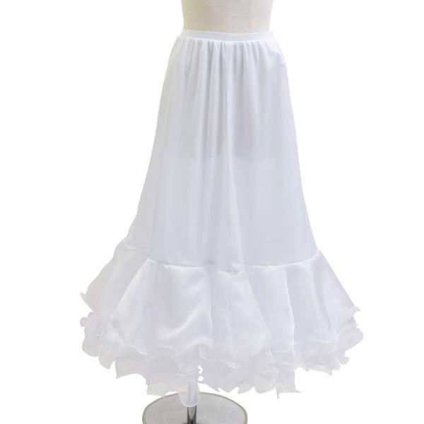 ダンス衣装  ボリュームフリルパニエ フラメンコ 衣装 ペチコート AB5831|e-dance-fitness|09