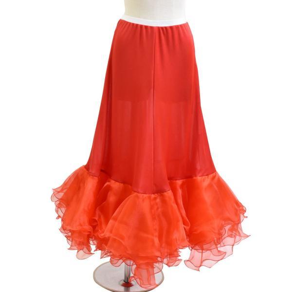 ダンス衣装  ボリュームフリルパニエ フラメンコ 衣装 ペチコート AB5831|e-dance-fitness|10