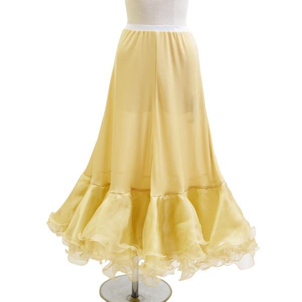 ダンス衣装  ボリュームフリルパニエ フラメンコ 衣装 ペチコート AB5831|e-dance-fitness|11