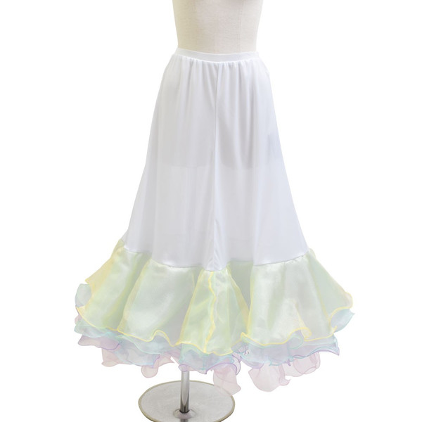 ダンス衣装  ボリュームフリルパニエ フラメンコ 衣装 ペチコート AB5831|e-dance-fitness|12