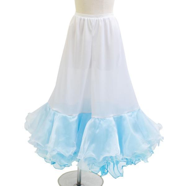 ダンス衣装  ボリュームフリルパニエ フラメンコ 衣装 ペチコート AB5831|e-dance-fitness|13