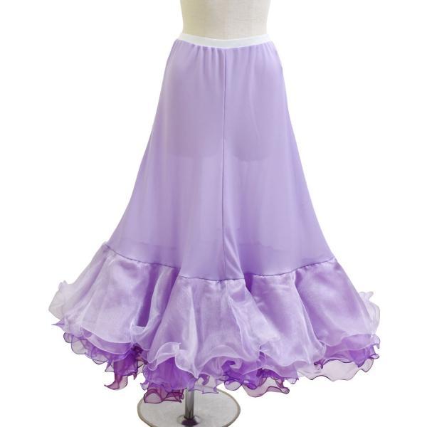 ダンス衣装  ボリュームフリルパニエ フラメンコ 衣装 ペチコート AB5831|e-dance-fitness|15