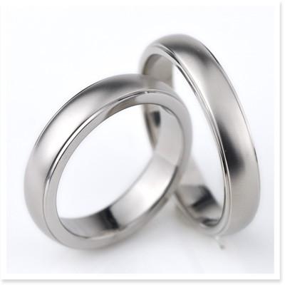 金属アレルギーに強い チタン 指輪