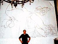 ジョンソン&ジョンソン財団大壁画製作風景
