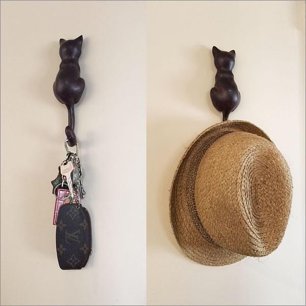 猫のしっぽハンガー
