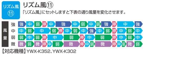 リズム風11